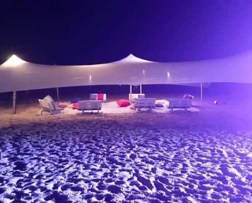 אוהל לייקרה להשכרה