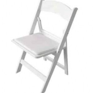 כסא תאילנדי לבן להשכרה