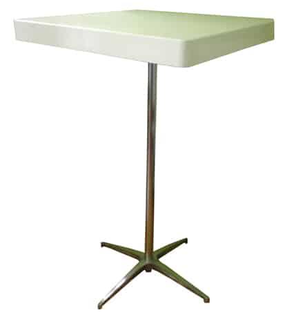 שולחן בר רגל ניקל