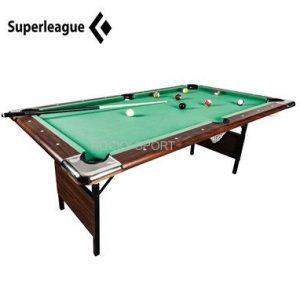 שולחן ביליארד מתקפל 6 פיט King SUPERLEAGUE