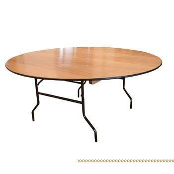 שולחן עגול קוטר 1.6