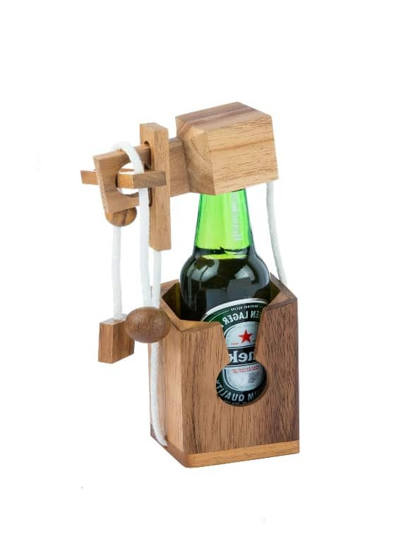 אל תשבור את בקבוק בירה - משחקי חשיבה מעץ 1