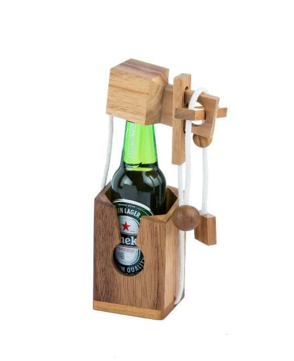 אל תשבור את בקבוק בירה - משחקי חשיבה מעץ
