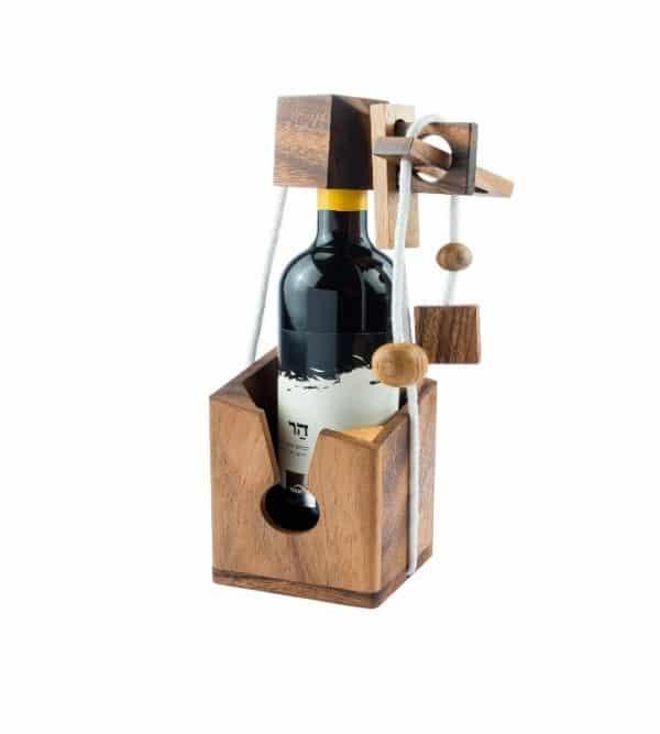 אל תשבור את הבקבוק יין - משחקי חשיבה מעץ 1
