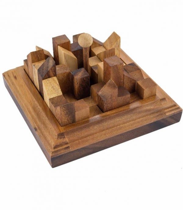 דאון טאון - משחקי חשיבה מעץ