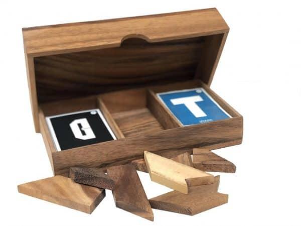 טנגרם מספרים ואותיות משחקי חשיבה מעץ 1