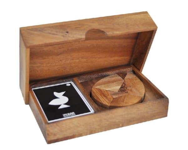 פאזל טנגרם ביצה - משחקי חשיבה מעץ