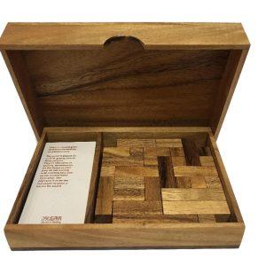 פאזל מרובע פנטומינו - משחקי חשיבה מעץ