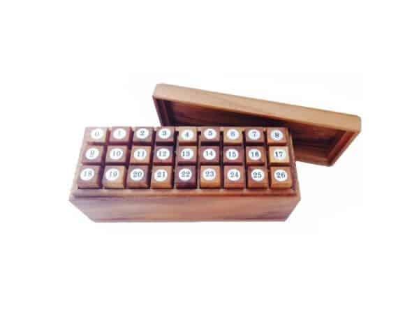 פאזל קומבינציות 27 חלקים - משחקי חשיבה מעץ
