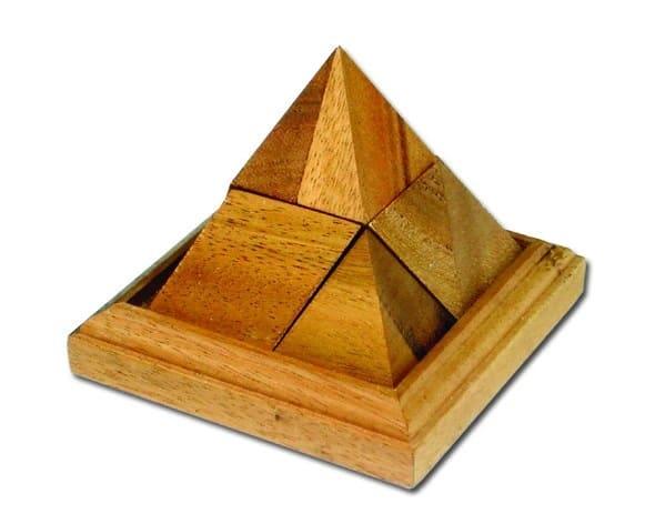 פרמידה 9 חלקים - משחקי חשיבה מעץ