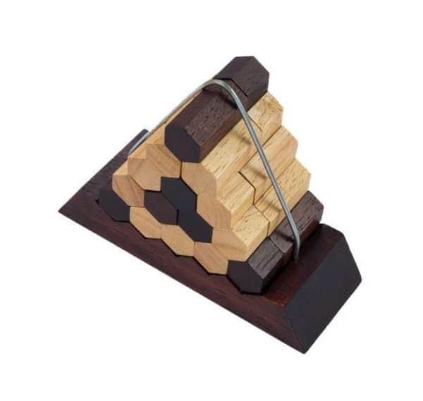 פרמידת משושים - משחקי חשיבה מעץ