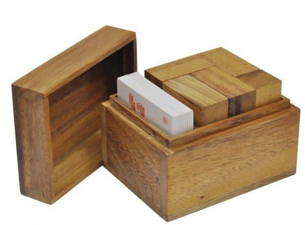 קובית סומו כפולה - משחקי חשיבה מעץ 1