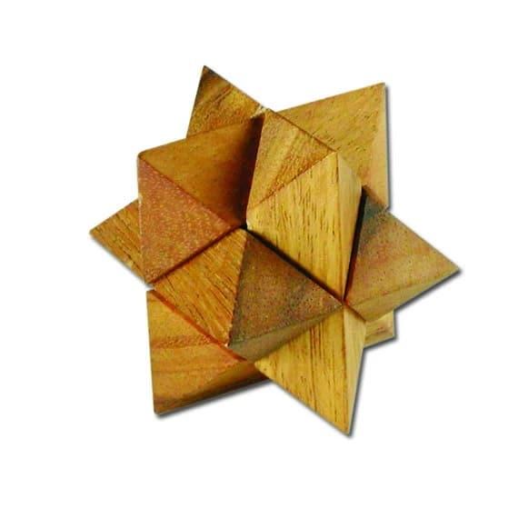 פאזל סטאר קטן - משחקי חשיבה מעץ 1