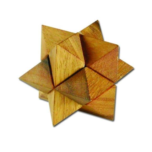 פאזל סטאר קטן - משחקי חשיבה מעץ