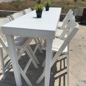 שולחן בר 1.8 אורך להשכרה