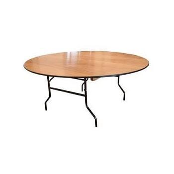 שולחן עגול קוטר 1.2